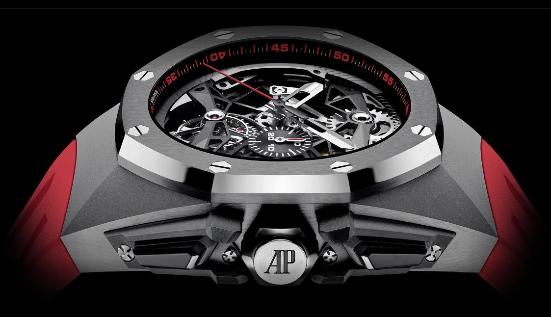 The male copy watches have tourbillons.