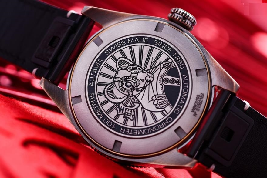 The limited replica watches have mouse pattern.